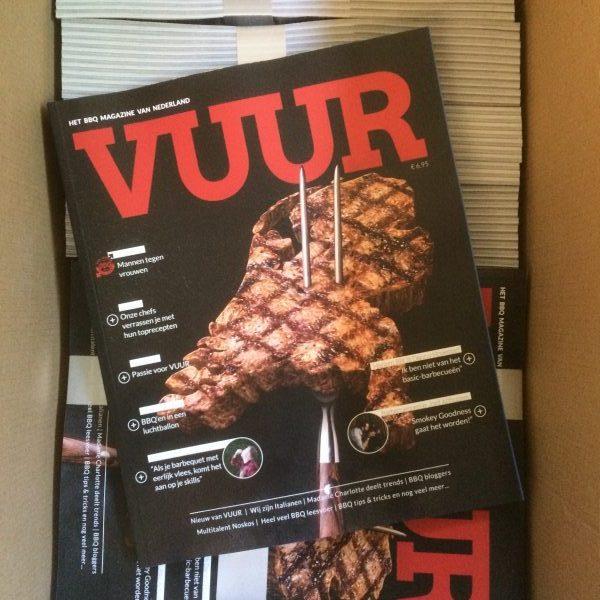 Gratis BBQ magazine Vuur