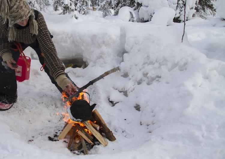 Buitenkoken in de sneeuw, win het boek van Tim Ziegeweidt & Sebastian Buchner!