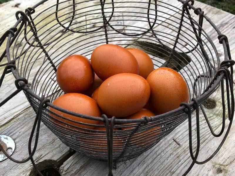 Koud gerookte eieren